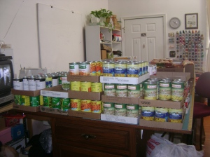 Food donations 2013