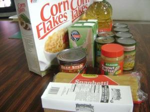 Senior food commodities