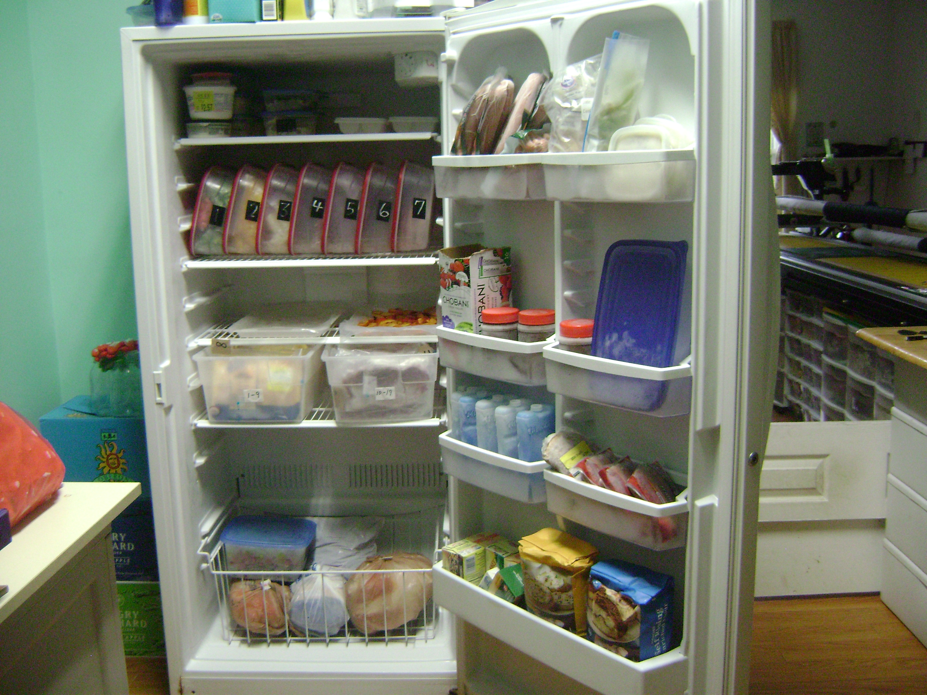 Popular Organized freezer | Na Na pinches her pennies (aka frugal living) GS58