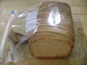 Whole wheat no knead bread 012