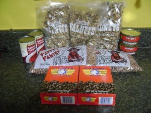 Food bank food 10-10-16